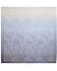 Armani Ombr232 Floral Scarf - Lyst