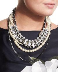 Marina Rinaldi - Lara Simulated-pearl Necklace - Lyst