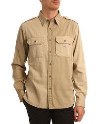 Denim & Supply Ralph Lauren Pilot Multi Beige Shirt - Lyst
