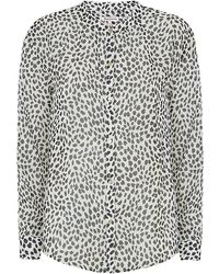 Juicy Couture Cheetah Print Shirt - Lyst