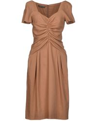 Alberta Ferretti Knee-length Dress - Lyst
