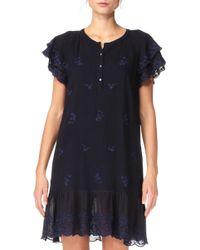 Antik Batik Pencil Dress - Romantic1Dress blue - Lyst