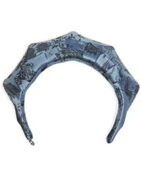 Masterpeace - Koko Shnik Origami Silk-blend Headband - Lyst