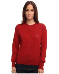 Vivienne Westwood Red Label Button Up Cardigan - Lyst