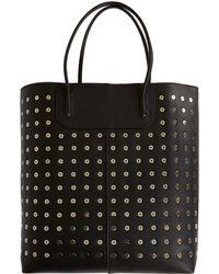Alexander Wang Black Prisma Leather Bag - Lyst