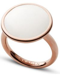 Skagen - Skj0823791003 Ladies Ring 8 - Lyst