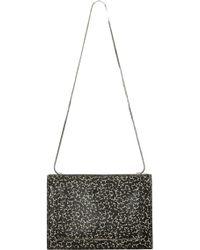 3.1 Phillip Lim Soleil Mini Chain Shoulder Bag Cream Black - Lyst