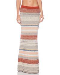Goddis Farrow Maxi Skirt - Lyst