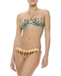 Milly Barbados Multicolored Bandeau Top Medium810 - Lyst