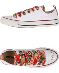 Converse Low-Tops & Trainers white - Lyst