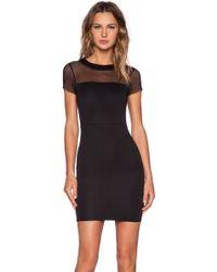 Donna Mizani Quilted Mini Dress - Lyst