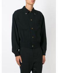 Jean Paul Gaultier - Triangle Tip Collar Shirt - Lyst