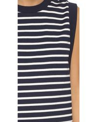 Petit Bateau - Marbre Dress - Noctambule/coquille - Lyst