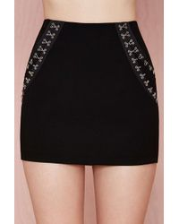 Nasty Gal Hook It Up Skirt - Lyst