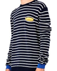 Chinti And Parker Striped Merinowool Sweater - Lyst