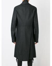 Lost & Found - Side Fastening Coat - Lyst