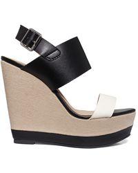 Report - Nessa Platform Wedge Sandals - Lyst