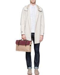 Seventy Eight Percent - Dimitri Leather Canvas Medium Satchel - Lyst