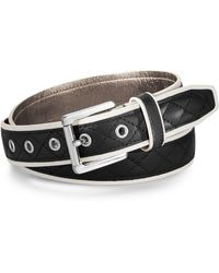 Michael Kors Michael Quilted Colorblock Belt - Lyst