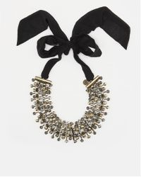 Day Birger Et Mikkelsen Chunky Black Night Banquet Necklace - Lyst