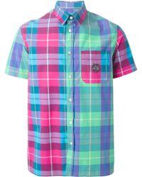 Love Moschino Checked Shirt - Lyst