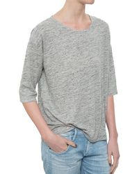 A.P.C. Seaside T-Shirt gray - Lyst