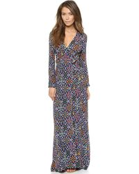 Tigerlily Bouquet Floral Maxi Dress  Multi - Lyst