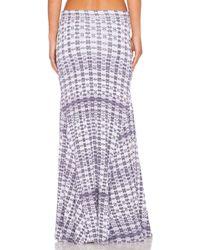 RVCA | Surreals Maxi Skirt | Lyst