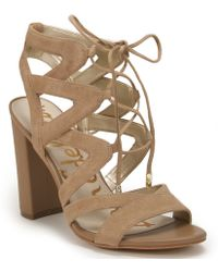 Sam Edelman | Tie Sandal | Lyst