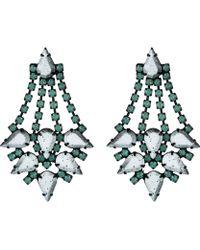 Dannijo Multicolor Antoinette Earrings - Lyst