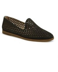 Franco Sarto 'Frontier' Perforated Leather Flat - Lyst