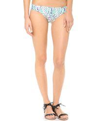 Shoshanna Occitan Ikat Bikini Bottoms - Lyst