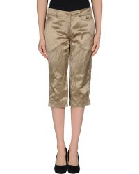 Moschino Cheap & Chic 3/4-Length Trousers - Lyst