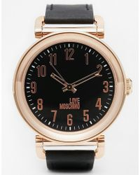 Moschino - Time To Cook Watch - Lyst