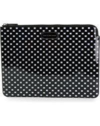 Marc By Marc Jacobs Square Print Clutch - Lyst