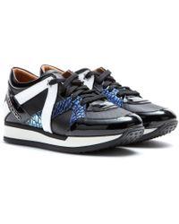 Jimmy Choo London Leather Sneakers - Lyst