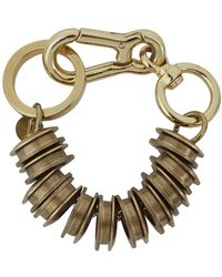 Moxham - Xeno Gold-plated Chain Bracelet - Lyst