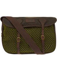Barbour - Olive Heckam Fishing Bag - Lyst