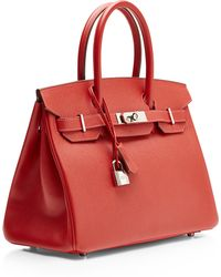 Heritage Auctions Special Collection Hermes 30cm Rouge Vif Epsom Birkin - Lyst