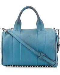 Alexander Wang Rocco Heat-sensitive Color-changing Stud-bottom Satchel Duffel Bag - Lyst