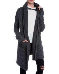 Raquel Allegra Hooded Sweater Coat - Lyst