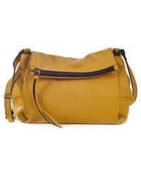 Sanctuary 'Village' Leather Foldover Crossbody Bag - Lyst