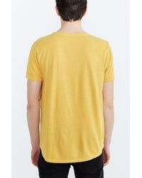 BDG - Standard-fit Pigment-dyed Wide Neck Tee - Lyst