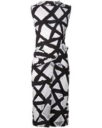 Vivienne Westwood Anglomania Black Taxa Dress - Lyst