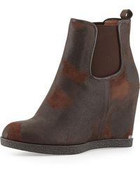 Donald J Pliner Dillon Wedge Ankle Boot - Lyst