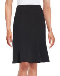 Nipon Boutique - Plus Crepe Flounce Skirt - Lyst