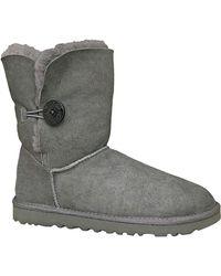 Ugg Ladies Bailey Button Sheepskin Boots - Lyst