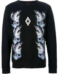 Marcelo Burlon County Of Milan Snake Print Sweatshirt - Lyst