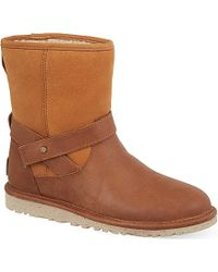 Ugg Anali Ankle Boots - Lyst