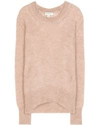 Burberry London Mohair And Wool-Blend Sweater - Lyst